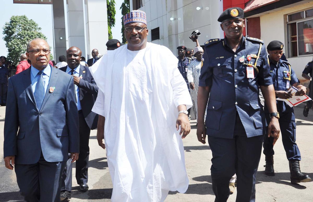 Minister of Interior Gen. Abdurahaman Dambazzau