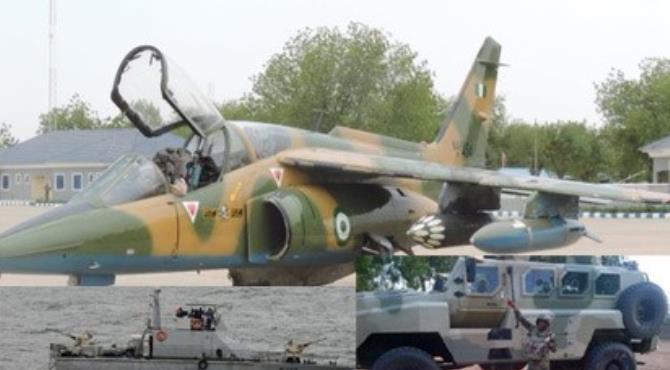 FG Deploys 5 Warships, 100 Gunboats, Fighter Jets To Combat Militants In Delta Creeks