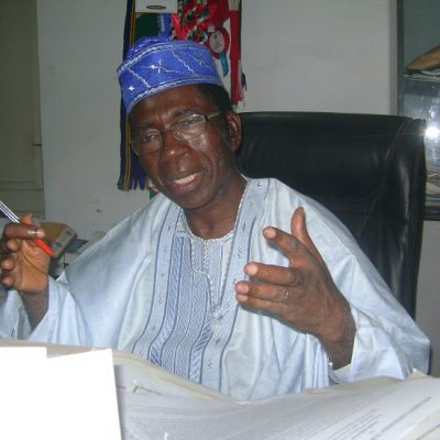 I'm eminently qualified for PDP's chairmanship seat – Prof. Adeniran