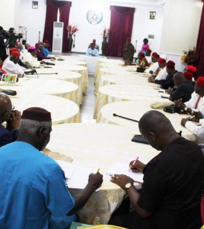 Anyaoku Sets Agenda As Obiano Inaugurates Anambra Council Of Elders