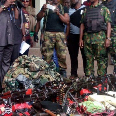 Niger Delta Militants Surrender Weapons In Rivers State
