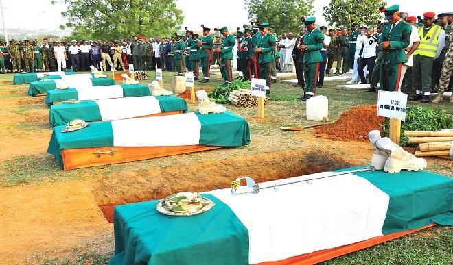 Army Buries Fallen Heroes