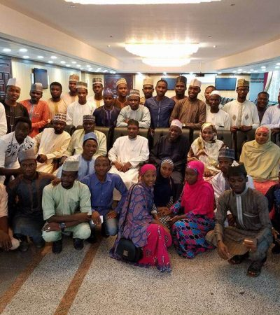 Ganduje Visits Nigerian Students In Egypt