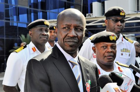 Magu, Daura Appear Before Senate Ad-hoc Committee