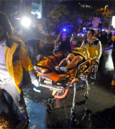 Istanbul Governor: At Least 35 Dead In Attack On Nightclub