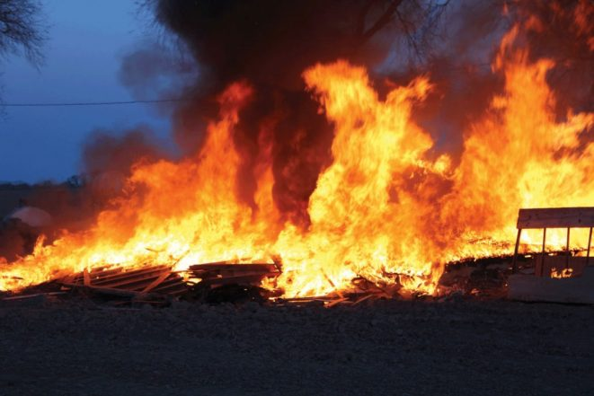 President Buhari Condoles With Victims Of Jos Market Fire
