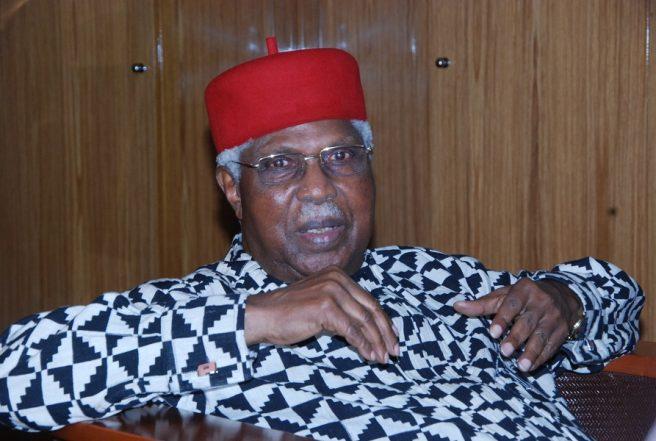 President Buhari Approves Ekwueme's Immediate Treatment Abroad