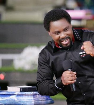 Timi Frank Commends TB Joshua Over Future Of African Youths' Project
