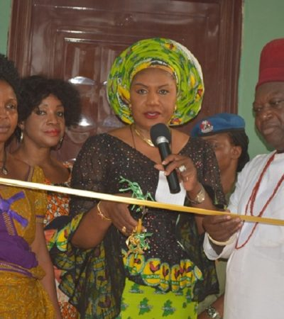 Community Celebrates As Mrs. Obiano Hands-Over House To Widow