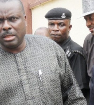 Gov Dickson, Ibori In Closed-Door Meeting