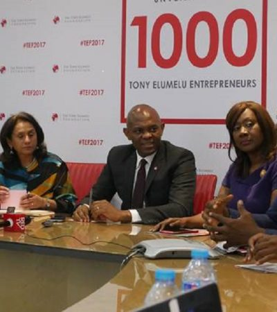 Tony Elumelu Foundation 2017 Entrepreneurship Programme Selection Announced