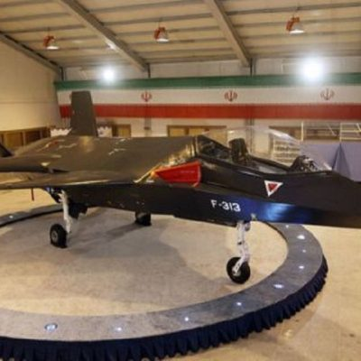 "Iran's Homemade ""Fighter"" Plane Nearly Ready"