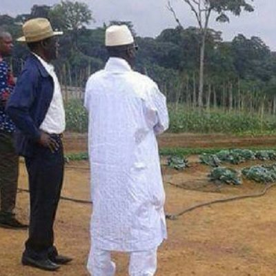 First Pictures of Gambia's Deposed Leader, Yahya Jammeh, Emerges Since Exile, Set to Become Farmer
