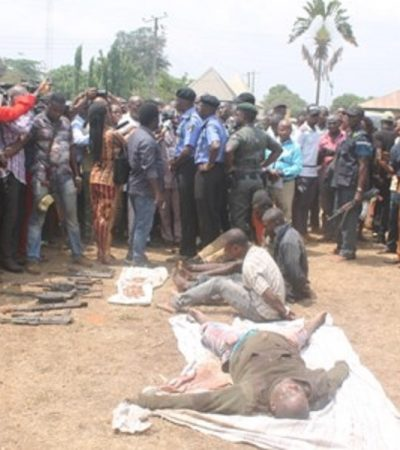 Police Parade Notorious Kidnapper, Vampire,  In Imo