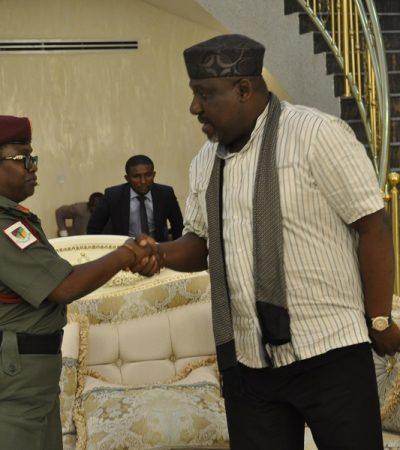 Okorocha Donates 4 Hospitals To The Army, Navy, Airforce & Police Respectively