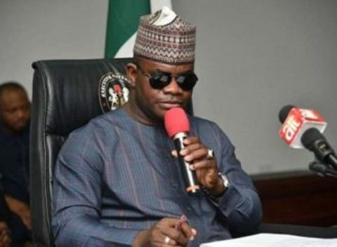 Only looters are not happy with President Buhari – Governor Bello tells Catholic Bishops
