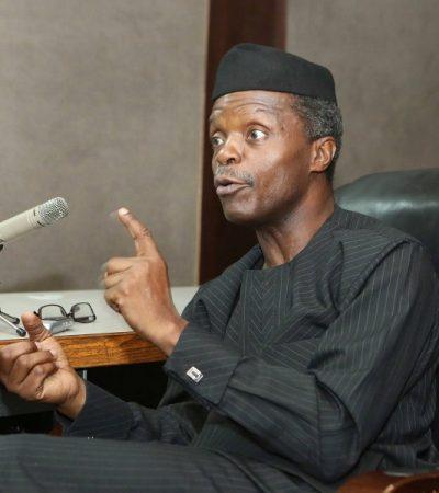 Presidency Denies Allegation Of Nepotism Against Osinbajo