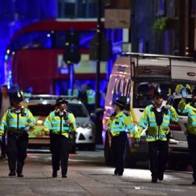 Casualties After London Bridge 'Knife And Van Incident'