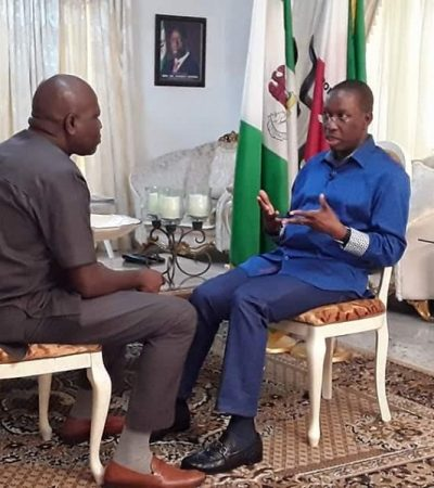 Okowa Abandons State Own TV Station, Wastes N27 Million Delta Paris Club On National TV Station