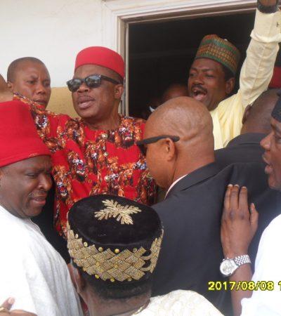APGA Primaries: INEC Monitors Arrive Awka