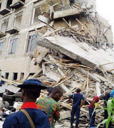 Three Storey Building Collapses In Ilorin