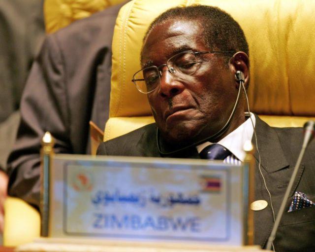 Trump U.N. Speech Apparently Sent Zimbabwe President Robert Mugabe to Sleep