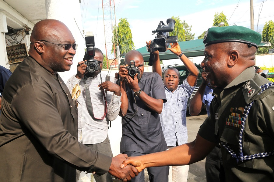 IGP Visit To Abia