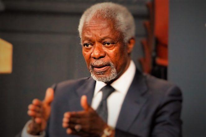 Breaking News: Former UN Secretary-General Kofi Annan Is Dead