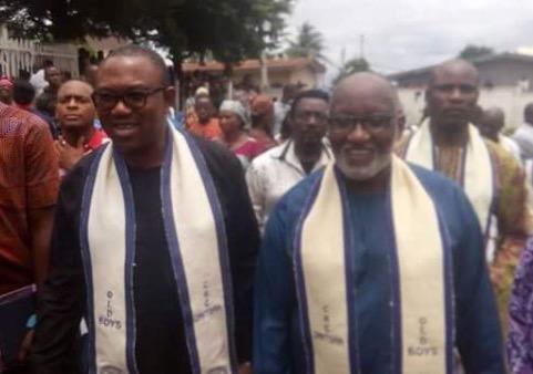 Oseloka Obaze/Peter Obi Booed At Afo Igwe Umudioka Market By Market Women