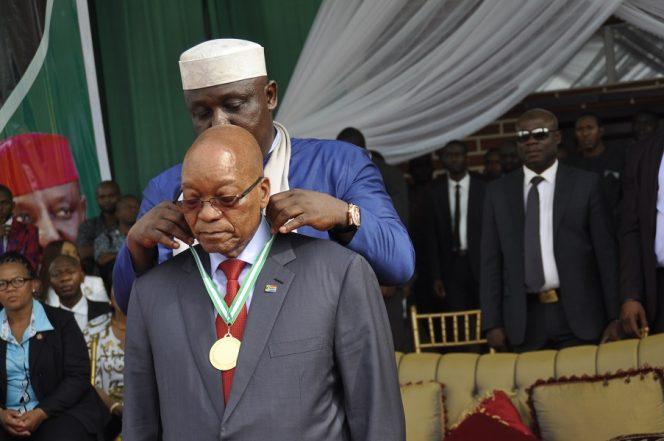 No South African Must Kill A Nigerian – Zuma