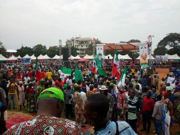 Images From PDP Flag Off In Anambra