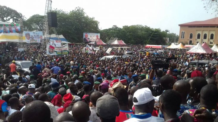 Images From APC Flag Off In Anambra