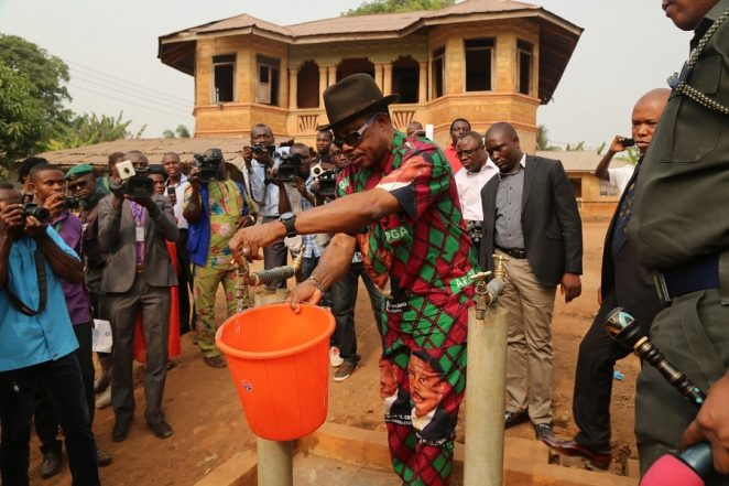 [Photos] Obiano's One Community One Project Initiative In Anambra Central