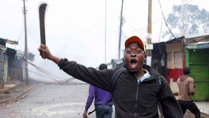 Kenya Election: Voting Marred By Boycott