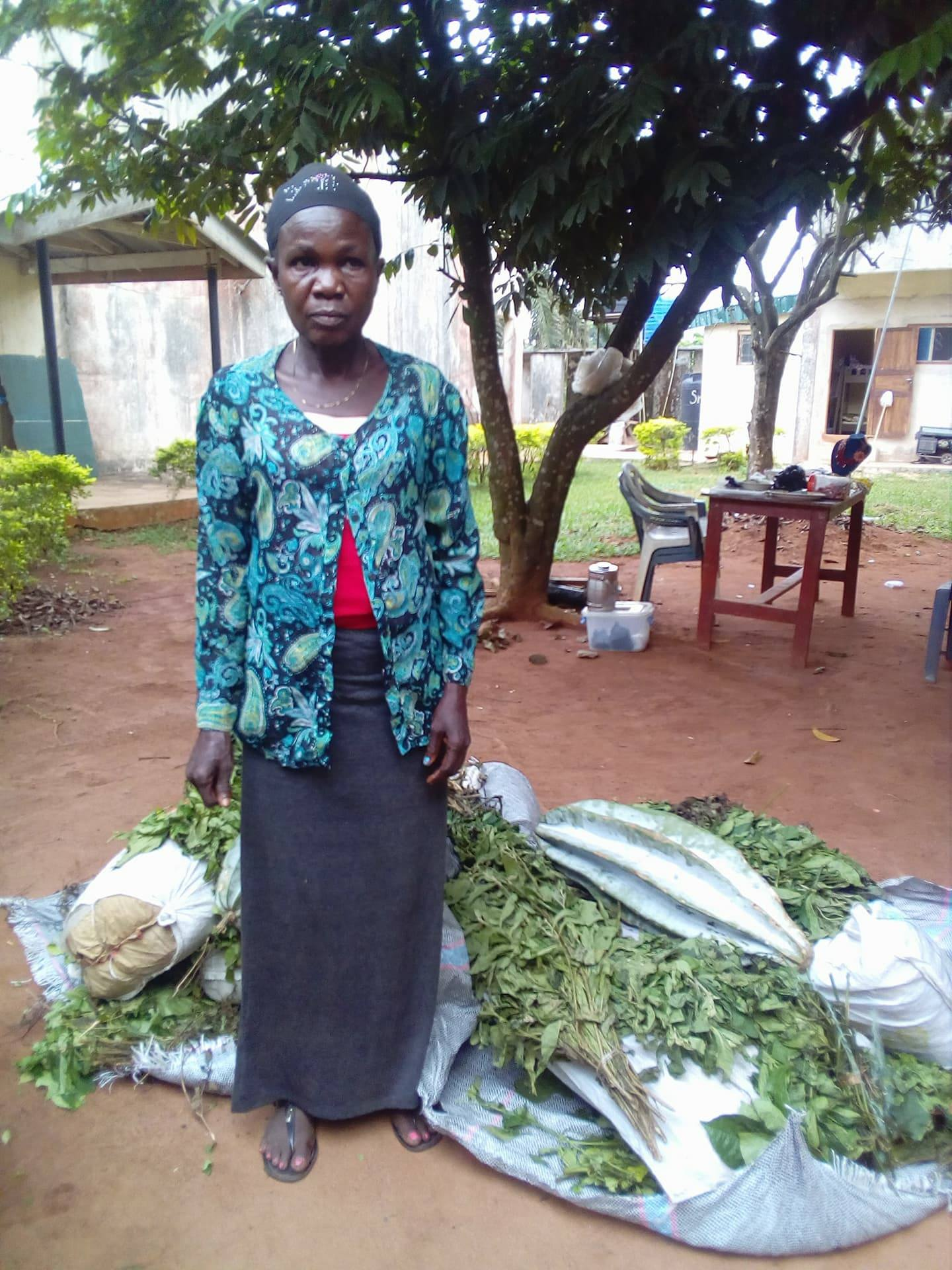 50yr Old Mother of Seven Arrested With 40kg Cannabis In Edo