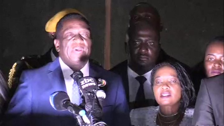 Zimbabwe's Mnangagwa promises jobs in 'new democracy'