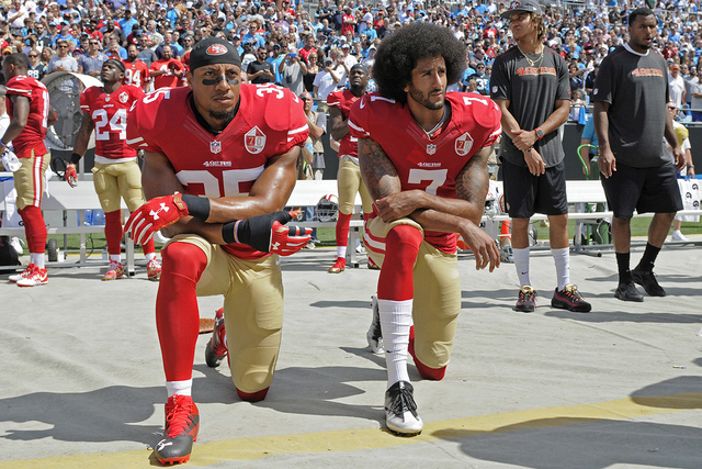 U.S. National Anthem: Kneel Or Not To Kneel, That Is The Question – By Charles Chuck Rowe