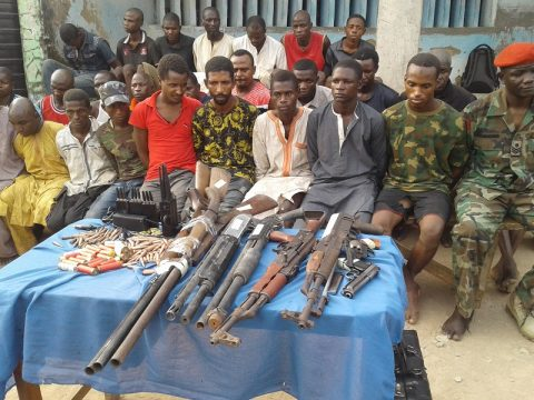 Police Parade 28 Dangerous Kidnappers In Niger State