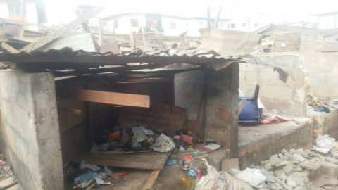 Images From The New Market Fire Owerri