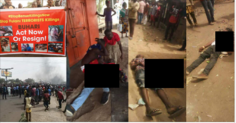 Update: Photos Of Youths Killed By Soldiers In Benue [Graphic photos]