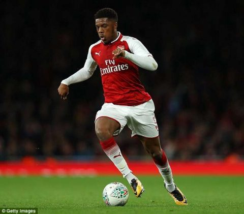 Arsenal to loan out Nigerian forward