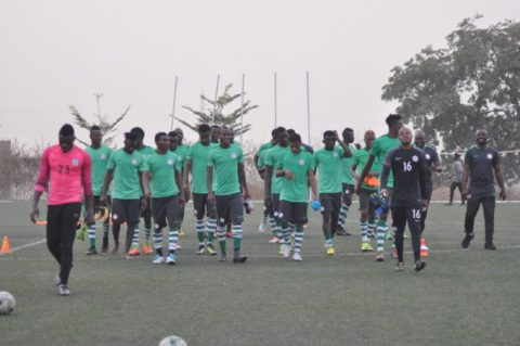 CHAN 2018: Nigeria, Cameroon square up in test game