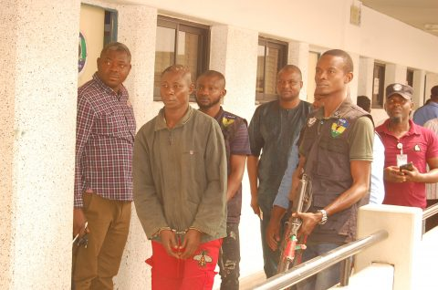 Police Parades Notorious Gang Member From Rivers State