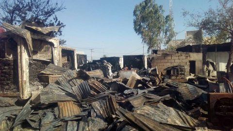 Images From Kano Fish Market Fire