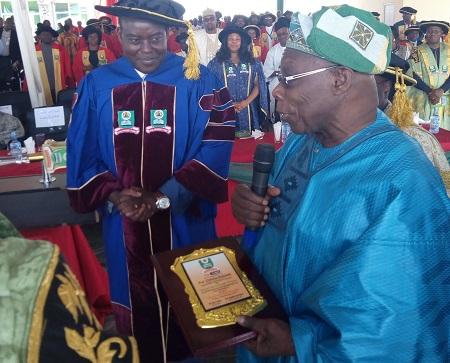 Dr. Olusegun Obasanjo Backs Call For Restructuring At NOUN 7th Convocation