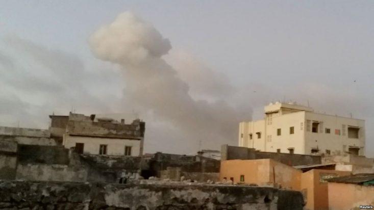 18 Killed in Mogadishu Blasts