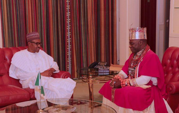 [Photos] Olu of Warri Visits Buhari