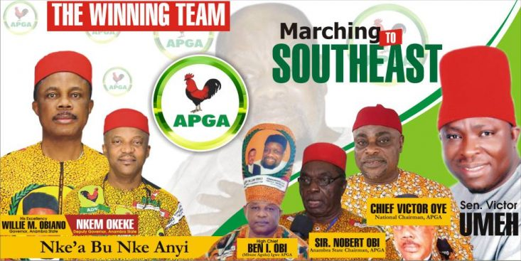 APGA Is Ready To Take Over South East – Igwe APGA