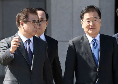 South Korean team heads to North in bid to bring U.S., North to nuclear talks