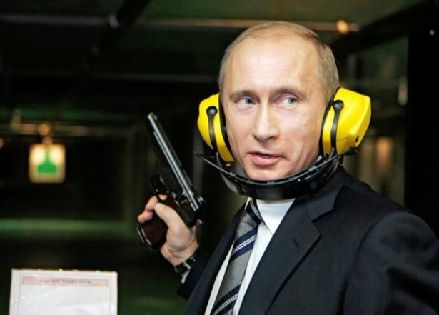 Vladimir Putin says he will destroy the world with nuclear weapons if Russia is threatened